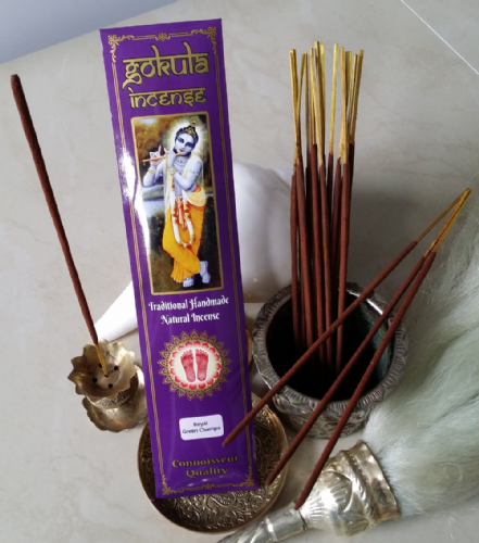 Royal Green Champa Incense Sticks - 20 grams